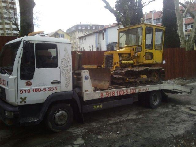 Перевозка спецтехники в Сочи